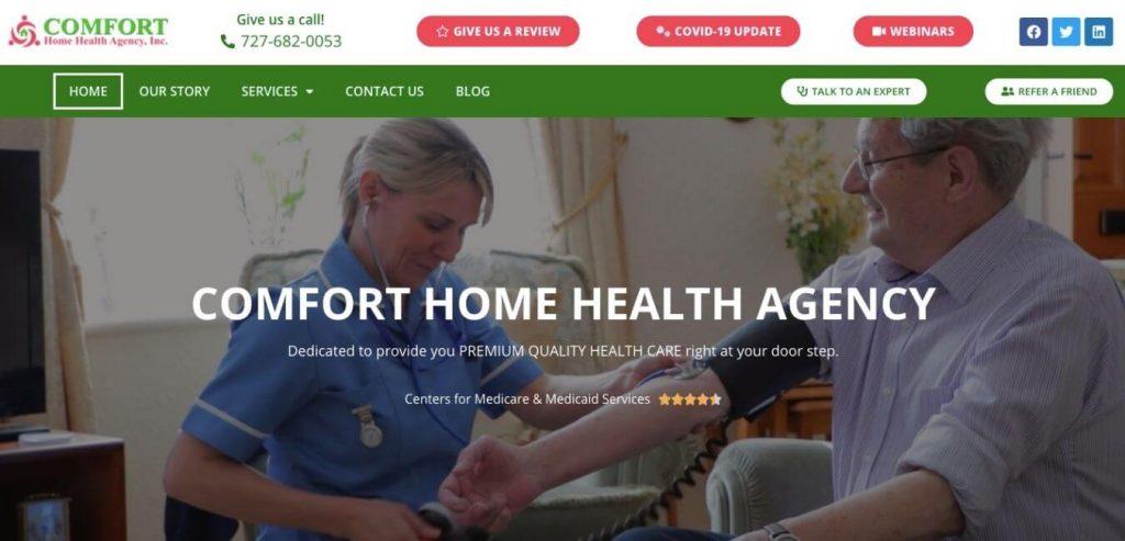 Comforth Home Health agency