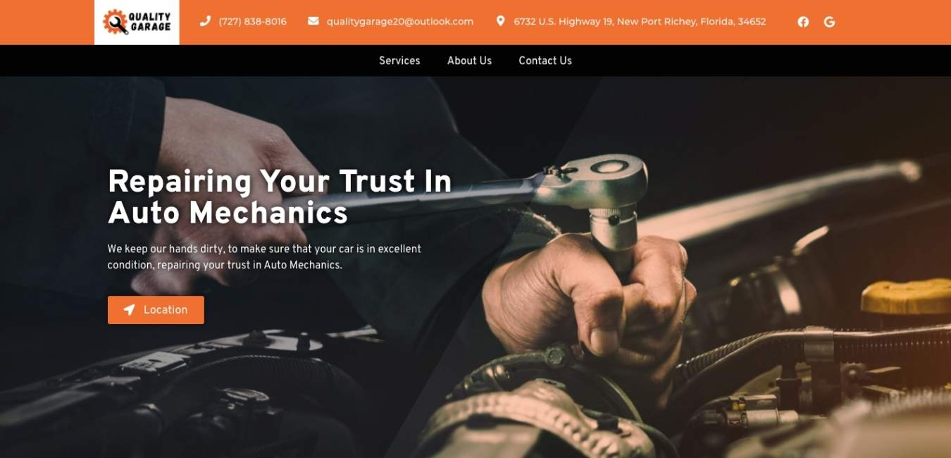 DaBasics Website Background and clients gallery